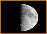 Le quartier de lune en magie
